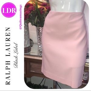RALPH LAUREN Black Label Pink Skirt